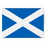 tarjeta de felicitación de Escocia