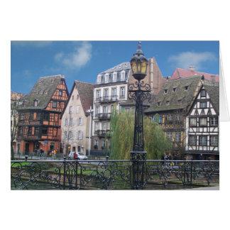 Tarjeta de felicitación de Estrasburgo Francia