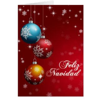 Tarjeta de felicitación de Feliz Navidad