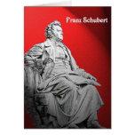 Tarjeta de felicitación de Franz Schubert
