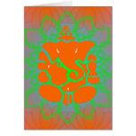 Tarjeta de felicitación de Ganesh