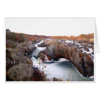 Tarjeta de felicitación de Great Falls