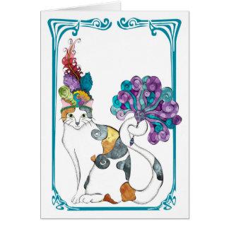 Tarjeta de felicitación de Gretel