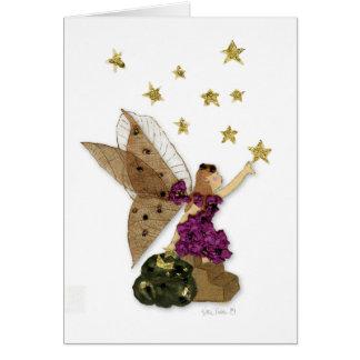 tarjeta de felicitación de hadas