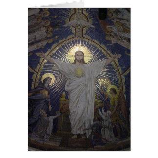 Tarjeta de felicitación de Jesús