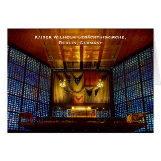 Tarjeta de felicitación de Kaiser Wilhelm
