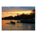 Tarjeta de felicitación de Kingston-sobre-Thames