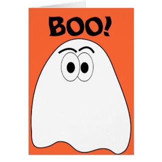 Tarjeta de felicitación de Kritter del fantasma