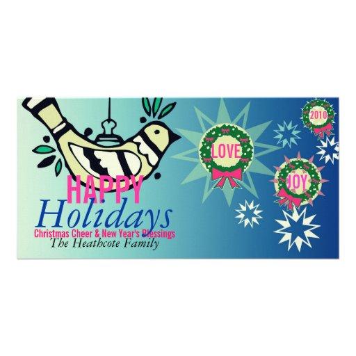 Tarjeta de felicitación de la alegría del amor del tarjetas con fotos personalizadas