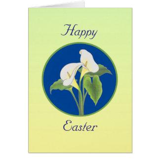 Tarjeta de felicitación de la cala de Pascua