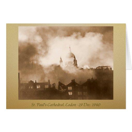 Tarjeta de felicitación de la catedral de San Pabl