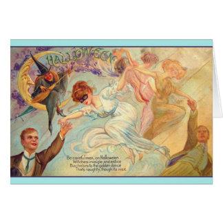Tarjeta de felicitación de la danza del soltero de