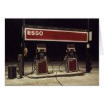 Tarjeta de felicitación de la estación de Esso