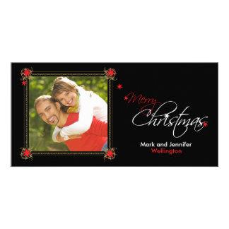 Tarjeta de felicitación de la foto de las Felices  Tarjetas Personales