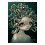 """Tarjeta de felicitación de la """"medusa pálida"""""""