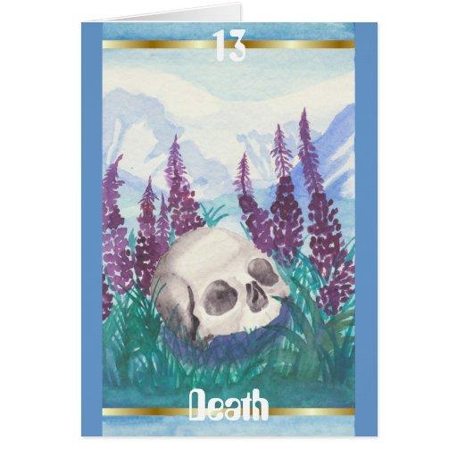Tarjeta de felicitación de la muerte #13