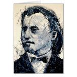 Tarjeta de felicitación de la música clásica - Bra