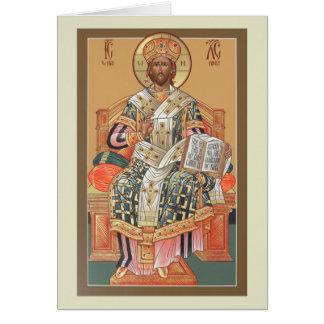Tarjeta de felicitación de la ordenación