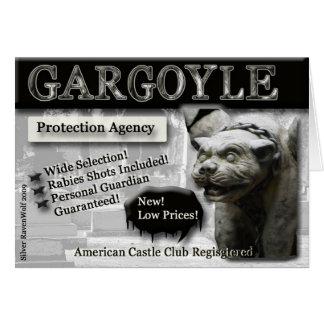 Tarjeta de felicitación de la protección del Gargo