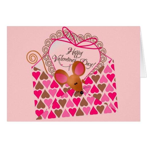 Tarjeta de felicitación de la tarjeta del día de S