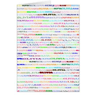 Tarjeta de felicitación de la vertical del diseño