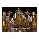 Tarjeta de felicitación de las Felices Navidad -