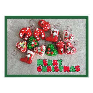 """Tarjeta de felicitación de las Felices Navidad Invitación 5.5"""" X 7.5"""""""