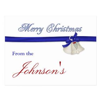 Tarjeta de felicitación de las Felices Navidad Postales