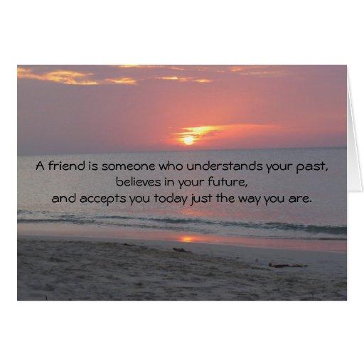 tarjeta de felicitación de los mejores amigos
