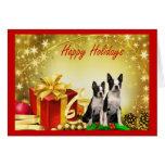 Tarjeta de felicitación de los regalos del navidad
