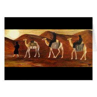 Tarjeta de felicitación de los Tuaregs