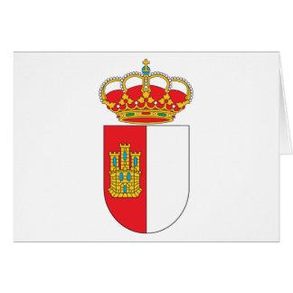 Tarjeta de felicitación de Mancha del La de Castil