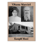 tarjeta de felicitación de Marciel del ʻOhana