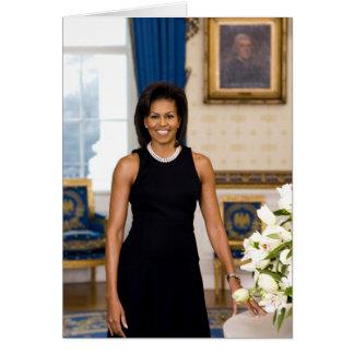 Tarjeta de felicitación de Michelle Obama