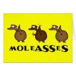 Tarjeta de felicitación de Moleasses