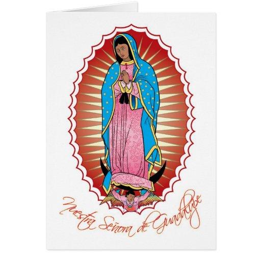Tarjeta de felicitación de Nuestra Señora de Guada