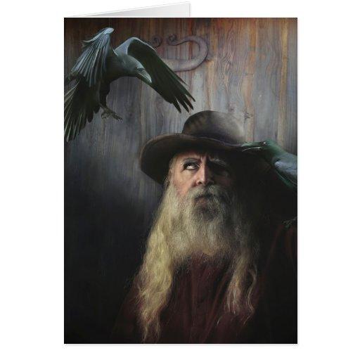 Tarjeta de felicitación de Odin
