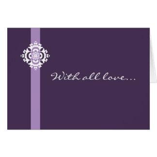 Tarjeta de felicitación de Ornamenta - personaliza