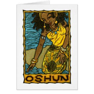 Tarjeta de felicitación de Oshun