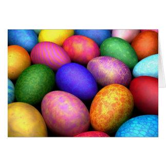 Tarjeta de felicitación de Ostereier (Pascua)