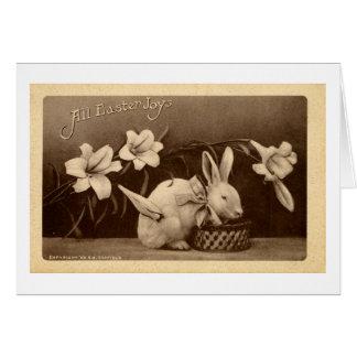 Tarjeta de felicitación de Pascua (1909)