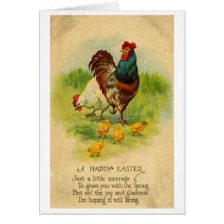 Tarjeta de felicitación de Pascua (1912)