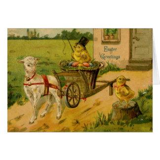 Tarjeta de felicitación de Pascua (CA 1910)