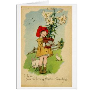 Tarjeta de felicitación de Pascua (CA 1915)