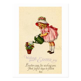 Tarjeta de felicitación de Pascua (CA 1915) Postales