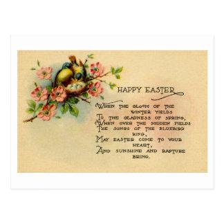 Tarjeta de felicitación de Pascua (CA 1915) Tarjeta Postal