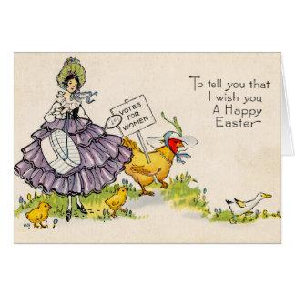Tarjeta de felicitación de Pascua (CA 1920)
