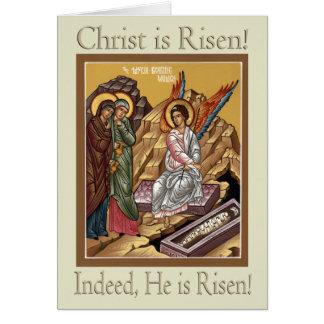 Tarjeta de felicitación de Pascua de las mujeres
