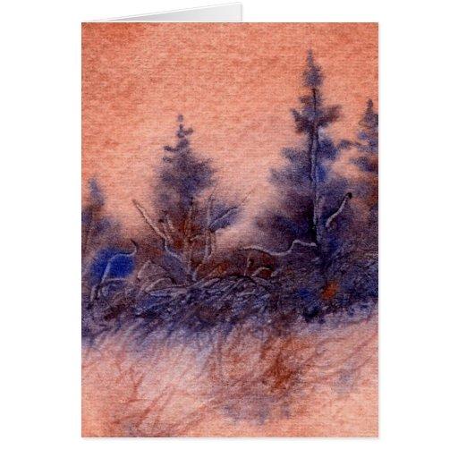 Tarjeta de felicitación de Pinescape