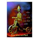 Tarjeta de felicitación de Pinocchio